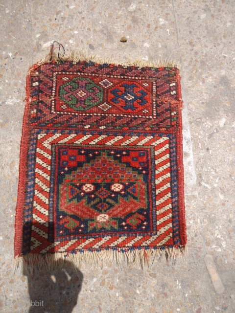 "Kurdish Chanteh with all good and colors and nice design.Size 1'2""*1ft.E.mail for more info and pics."