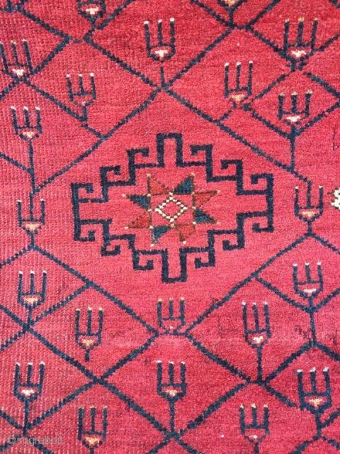 Ersari Turcmen rug (Fragment) 1900, 275 x 147 cm