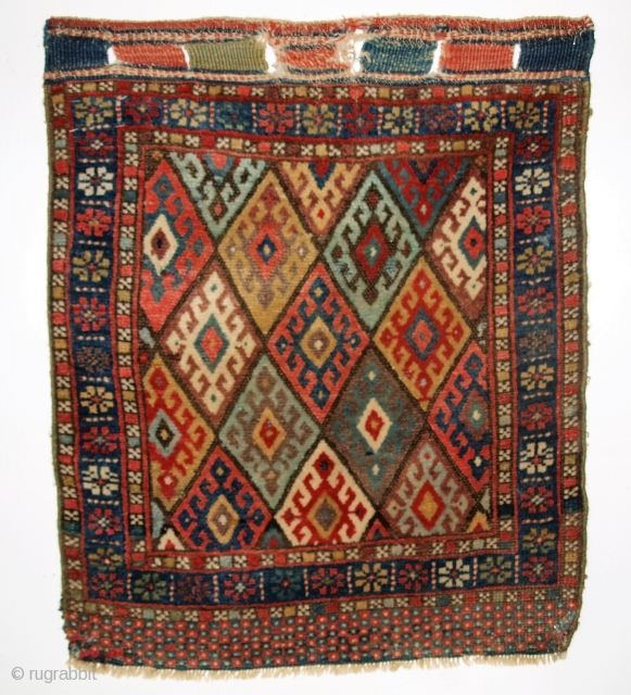 Jaf Kurd bag face, Size: 2ft 3in x 1ft 11in (69 x 58cm).