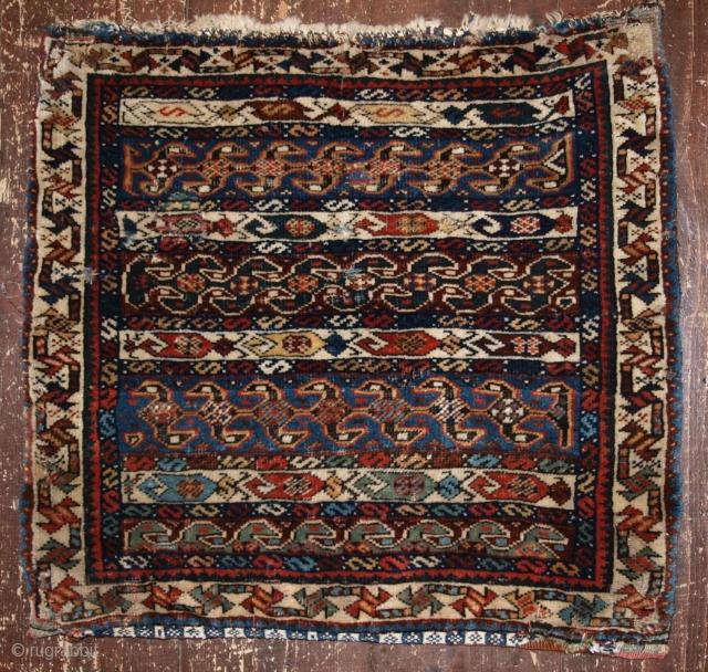Qashqai half khorjin, very fine weave, 2nd half 19th century.