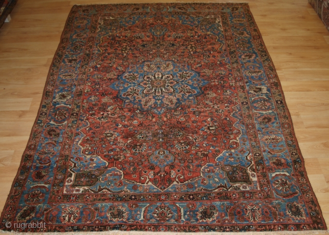 North West Persian village rug from the Greater Hamadan Region.