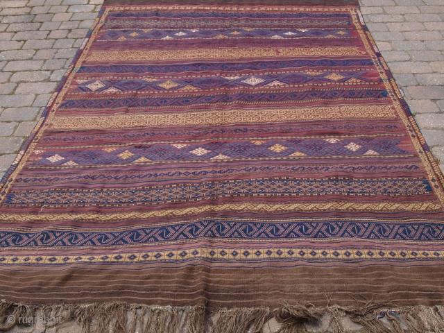 Baluch kilim, size: 276 x 195cm. d-1066.