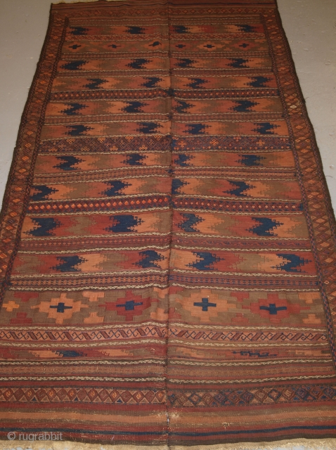 Baluch 2 part kilim, Size: 300 x 155cm.