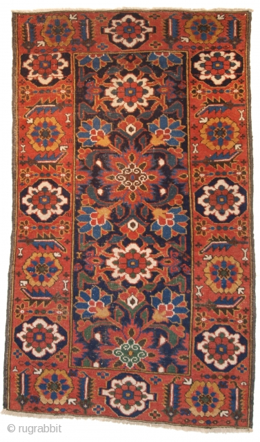 ANTIQUE PERSIAN FERDOWS BALUCH RUG WITH SUPERB COLOUR AND CONDITION, 2ND HALF 19TH century.