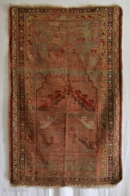 "Anatolian Prayer rug, 3' x 5'2"", very pretty colors. https://www.herizmerchant.com/collections/all"
