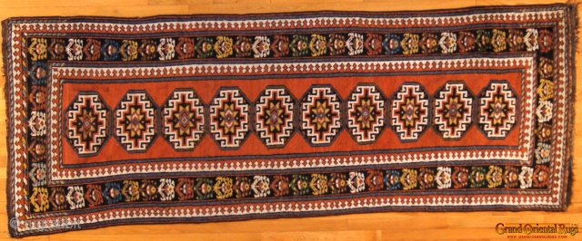 Northwest Persian. 3.5 x 9 ft (100 x 280 cm), excellent condition.
