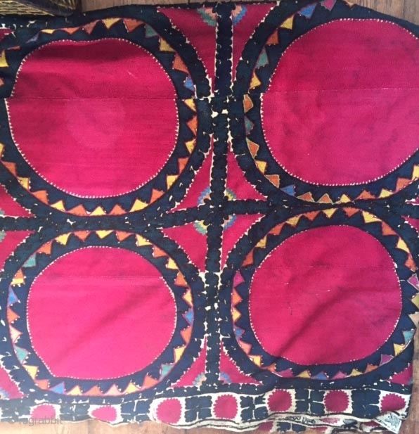 Early Bukhara Suzani large size great condition