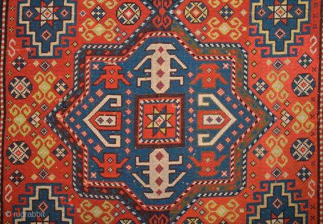 Circa 1900s needle point rug size 130 x 190 Cm.It's in realy good condition.