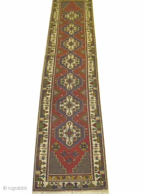 Yahyali Turkish, old, 77 x 356 cm, carpet ID: DD-31