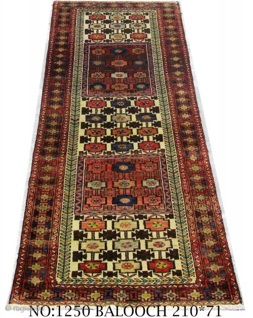 Rug no; 1250, Persian Kurdi Quchan, unique, circa 1950, size; 210x71 cm