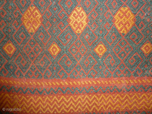 Rare central asian flat weave
