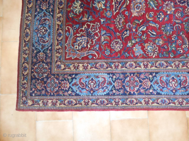 221 x 144  cm  is the size of this NAIN, village of TUDESHK.