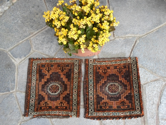 Balouch antique pair bags in good condition.
