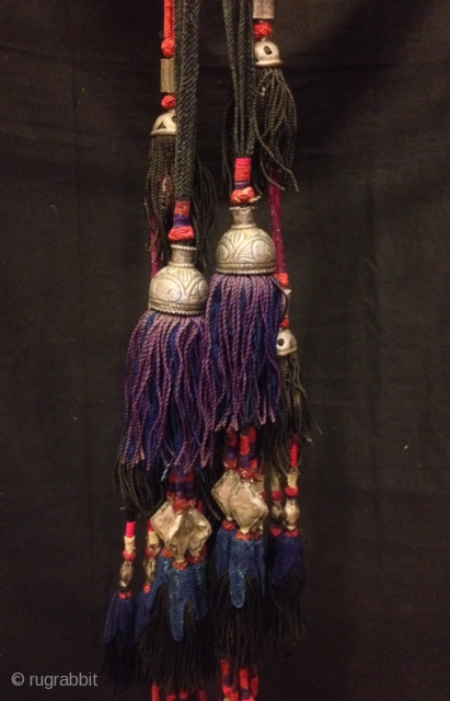 Uzbek ethnic tribal tassel