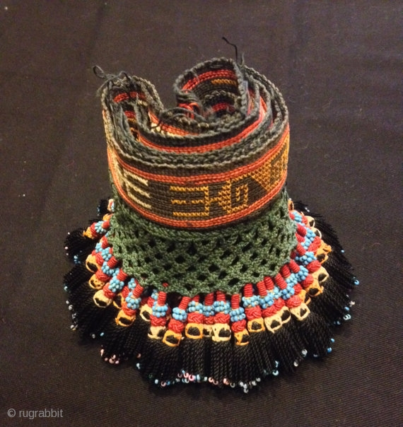 Vintage handmade Uzbek asian accessories ethnic tassel