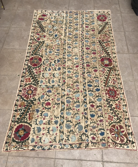 Antique 19.th century uzbek bukhara Suzani 
