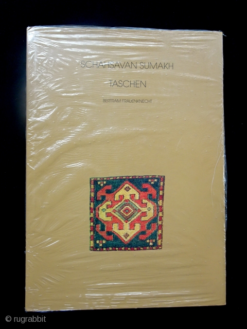 B. Frauenknecht, Shahsavan Sumakh.  New in shrink wrap.