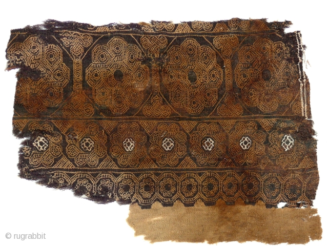 Coptic tunic(?) fragment, Egypt, 4-5 century. Click on this link: http://gallery-arabesque.com/item/400019391 for more images, details, and price.