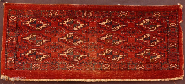 Imrelli torba, late 18th century, 110 X 45 cm. Primary green and fine weave. For structure, more images, and historic perspective please click on this link: http://gallery-arabesque.com/item/400016817