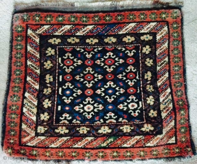 Here is a beautiful 19th. century Kurdish Khorjin face (saddle bag face),
