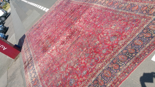 Old Keshan Carpet 100 Year Old