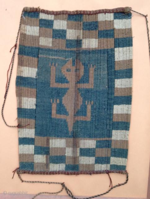 A nice Precolombian Textile , Circa : 8th or 9th ! Size : 38x27cm Condition : Good.