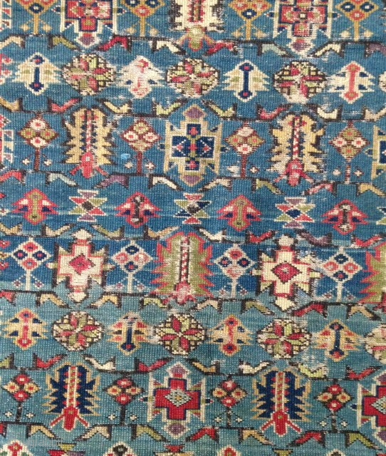 A beautiful and very fine Tcithci Rug ! Lovely colors ! Circa : 1850/60