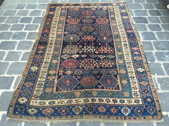 Kurdish old rug in good condition size 220x146 cm