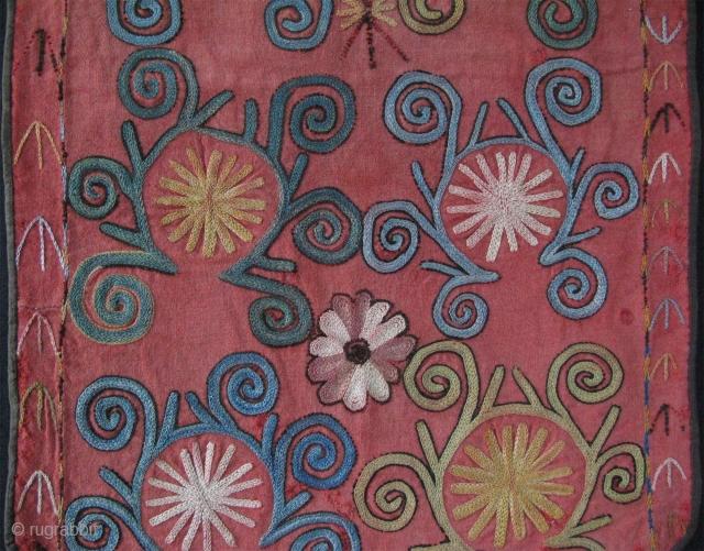 "Uzbekistan Lakai - Kungrat hanging. Size: 22"" x 14"" - 55cm x 36cm."