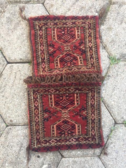 Small Turkmen Khorjin / Chanteh, size: ca. 42x24cm