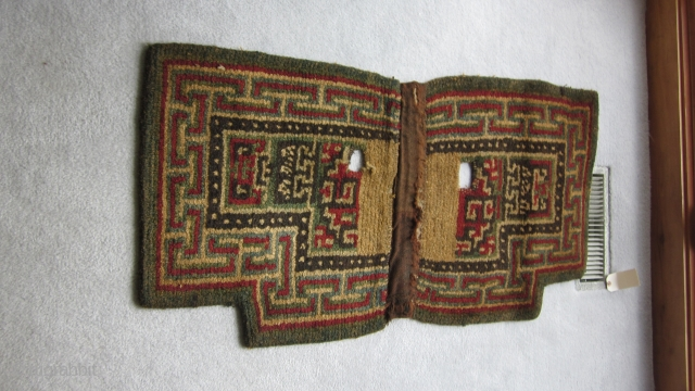 Tibetan notched saddle with wangden construction.  No repairs.  Glossy patina. Clearly pre-1900,  and possibly much earlier.  There are no criteria I know for assignment by quarter in  ...