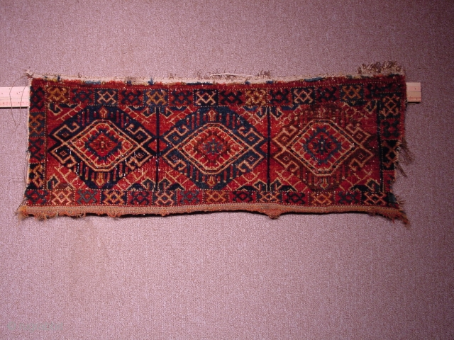Small Beshir bag face, perhaps mid-19th.