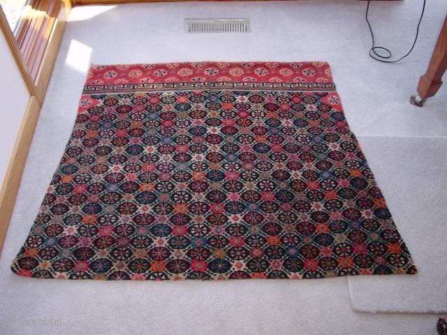 Tibetan Saddle Blanket, c.1920-30. Perfect condition. Nick Wright, East of the Bosphorus