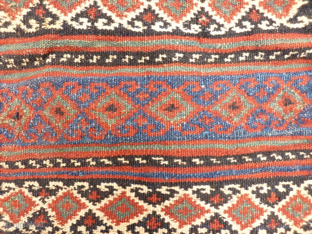 South West Persian Namakdan, thick and sturdy.53x41 cms