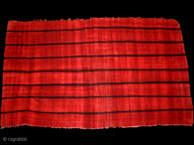 Woman's shawl Ajar cod. 0554. One of the items added on my new website www.nonplusultra.cloud. Wool, cotton, traditional dyes. Gafsa area. Tunisia. Early 20th. century. Very good condition with some very small  ...