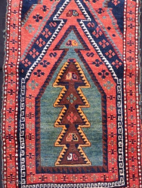 Anatolian Kurdish Rug,120 x 65 cm