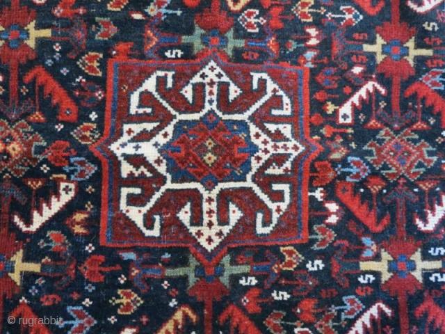 Antique Qashqai Bagface.70 x 60 cm