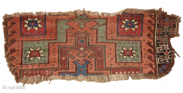 Central Anatolian Stepped Prayer Rug Fragmnet