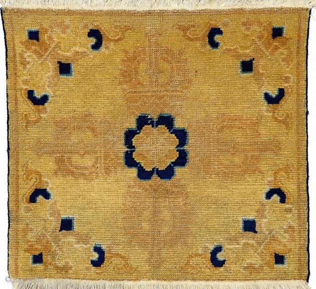 Old nice Ningxia mat  cm. 75*71  -  P.Cat