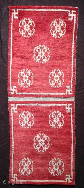 rare double mat , tibet..