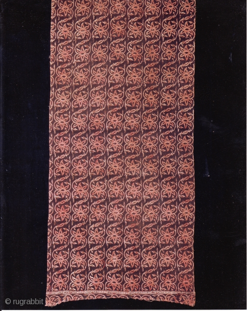 Indian Trade textiles 012, Basta, Block-prints, For the Indonesian market, plays important role as a ceremonial cloth, early 19th century, good condition. Price on request