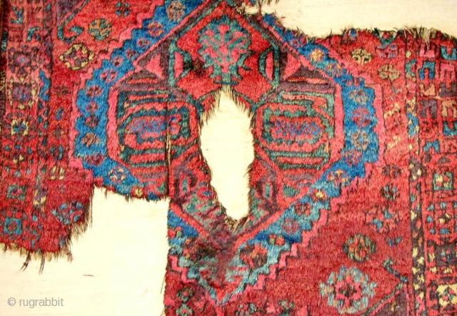 18th C. Karapinar/Karaman sleeping rug (detail) > full pile.