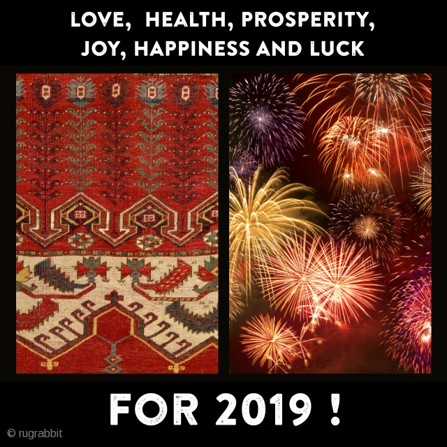 Dear friends! I wish love,  health, prosperity, joy, happiness and luck to you and all your beloved ones for the new year! Thank you for all your support in 2018 and  ...