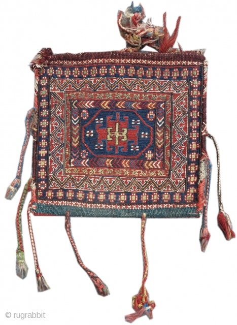 Shahsevan sumak chanteh bag, Khamseh region of Northwest Persia/ Azerbaijan