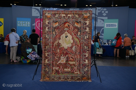 For those of you interested I'll be on the Public Broadcasting Service's television series, 'Antiques Road Show' tonight as a guest appraiser talking about this pictorial Lavar Kerman carpet. 'Antiques Road Show'  ...