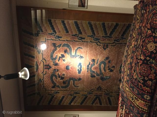 Antik China Dragon Carpet