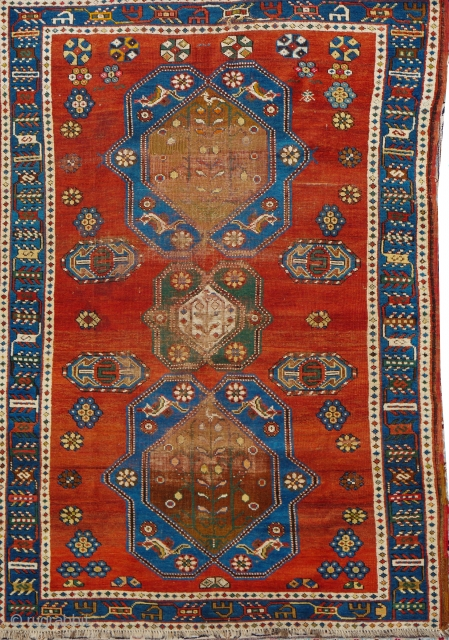 Antique Kazak 200x137cm