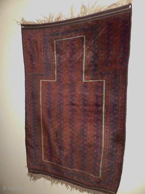 Beluch 1900 jh.wool on wool.very fijn kwalitie and all natural color's.size;134x86 cm