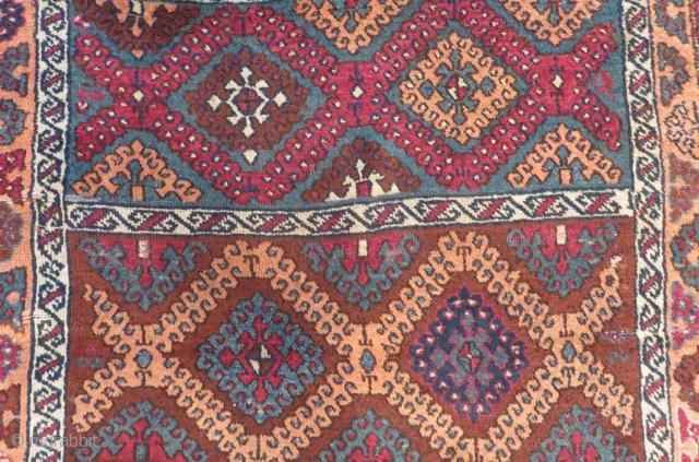 Antique East Anatolian Sivas Carpet Size.230x120cm
