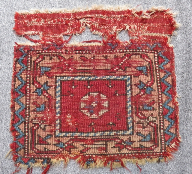 Antique West Anatolian Bag face Size.44x31cm
